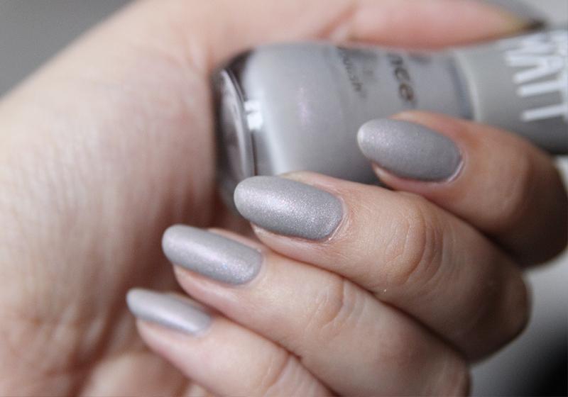 Nailart Rosegold & Grey - Schritt 1
