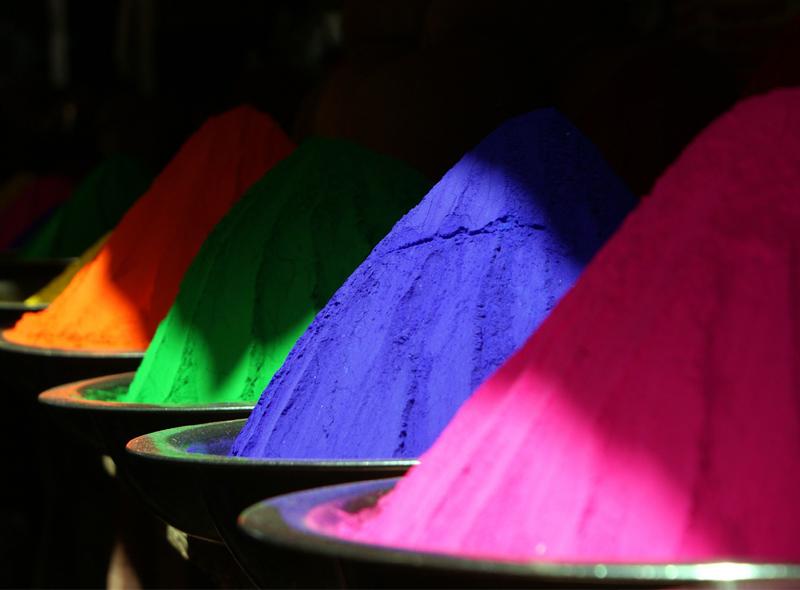 Wirkung der Farben