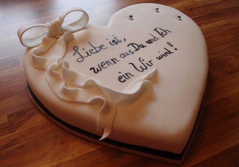 Herztorte zum Valentinstag 2
