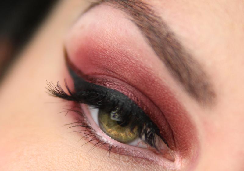 Red Smokey Eyes - Fertig 2