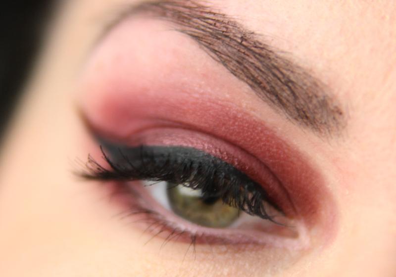 Red Smokey Eyes - Fertig 3