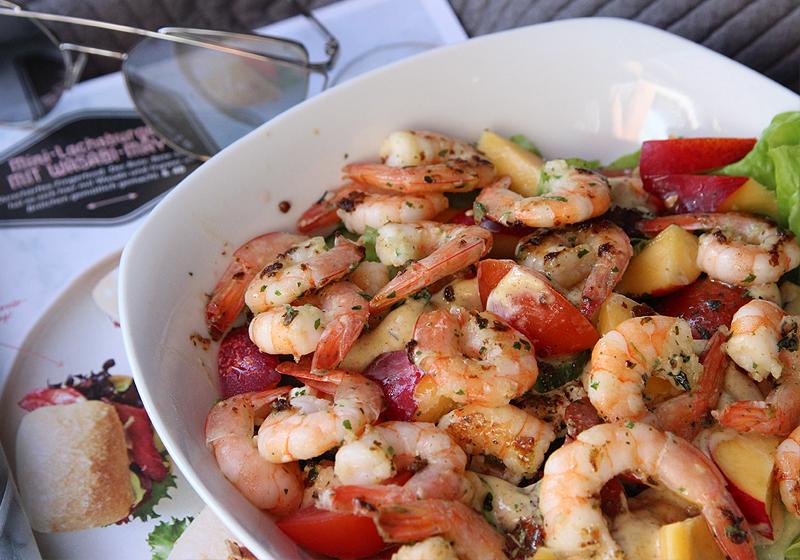 Garnelen auf Salat 1b