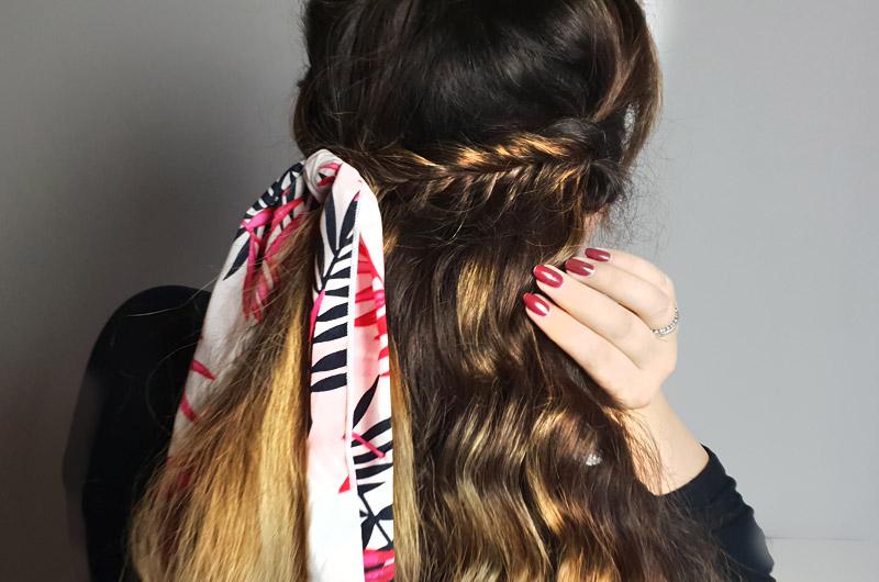 Tutorial Hair Styling Mit Multifunktionstuch Stylebreaker Blog