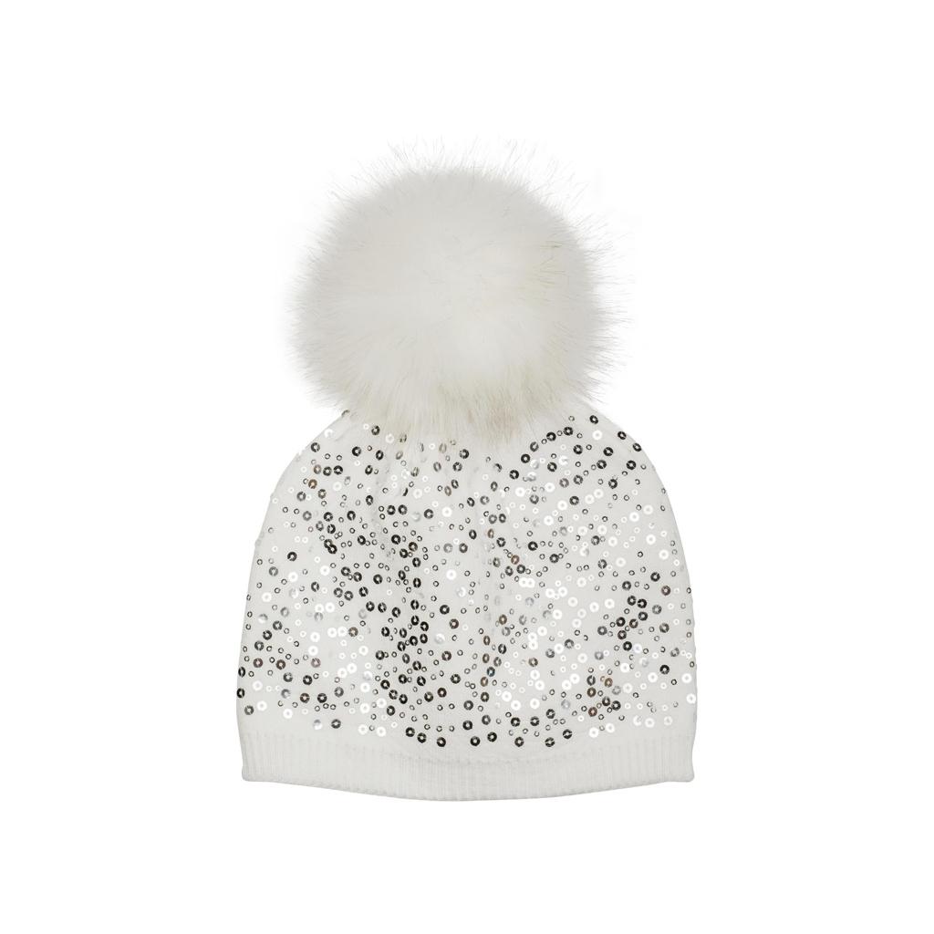 styleBREAKER Winterlicher Look in Weißtönen